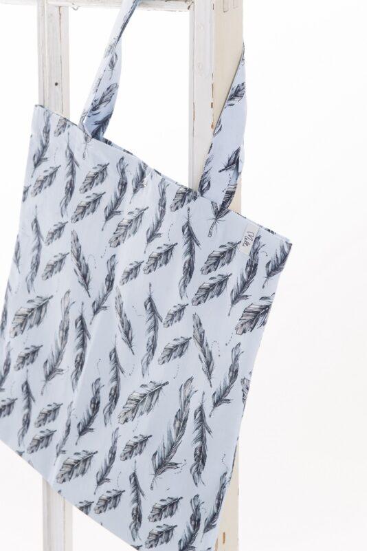 Bag Feather, light blue