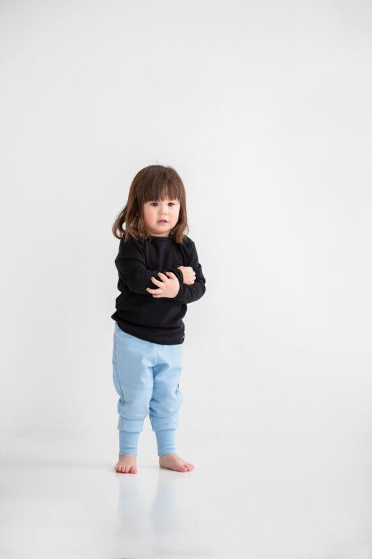 Shirt Black 86/92-146/152