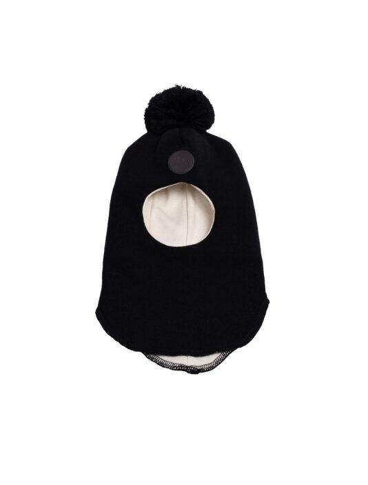 Melli EcoDesign merivillakypäräpipo musta