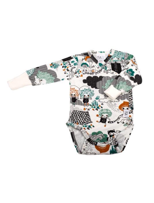 Melli Ecodesign mellimaa toffee vauvan body