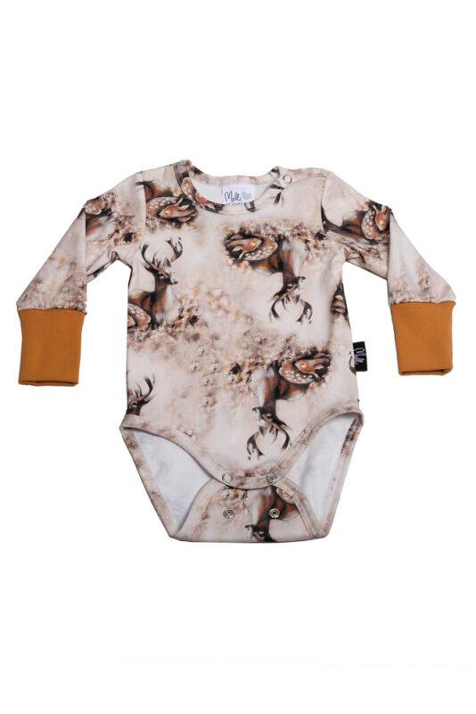 Bodysuit Bambi Family Brown 50/56-86/92
