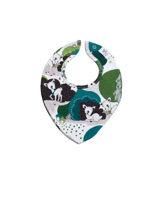 Melli EcoDesign vauvan kuolalappu bambimaa