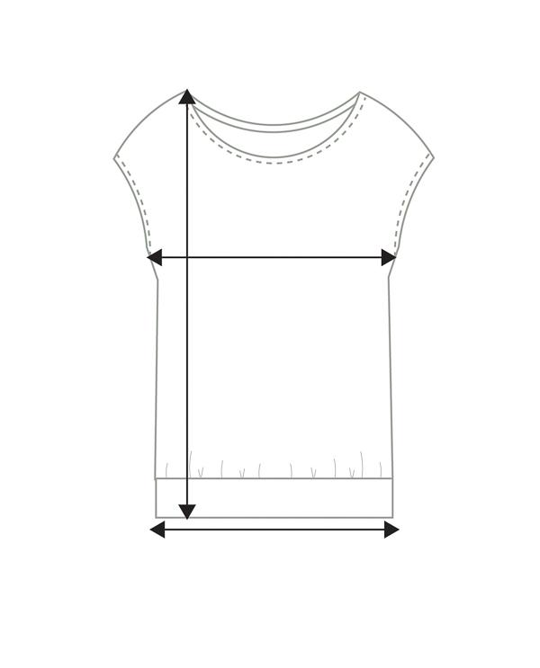 Naisten holkkihiha paita