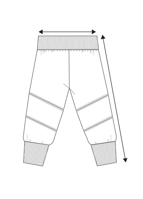 Lasten polvipaikka housut