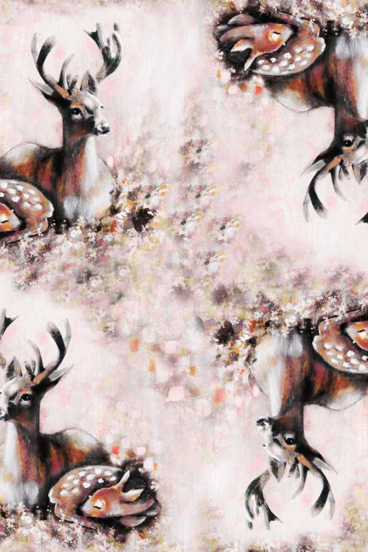 Mekko Bambiperhe ruskea 74/80-134/140