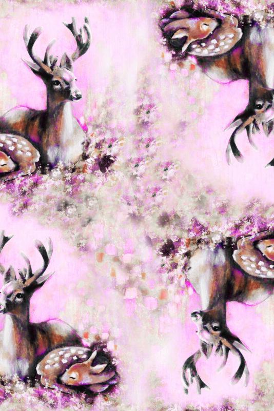 Bodysuit Bambi Family Light Pink 50/56-86/92