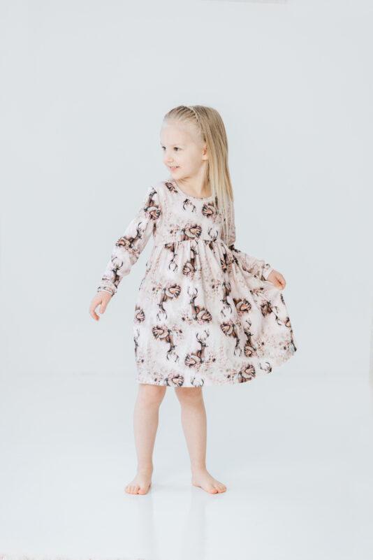 Dress Bambi Family light pink 74/80-134/140