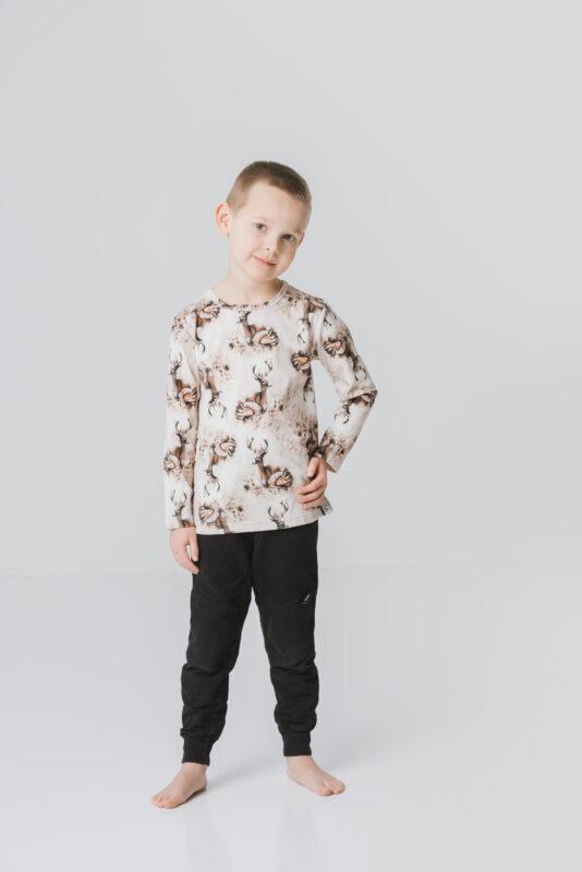 Lasten bambiperhe paita ruskea