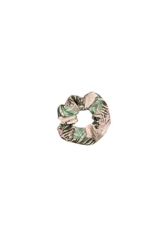 Scrunchie Viidakossa vanha roosa