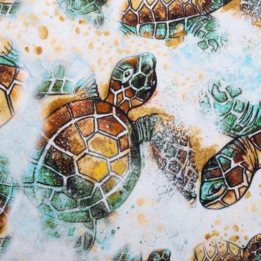 Lasten kilpikonna kuosi