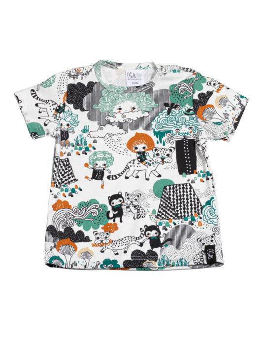 T-paita mellimaassa