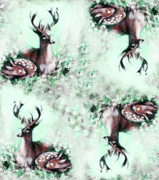 lasten bambiperhe -kuosi