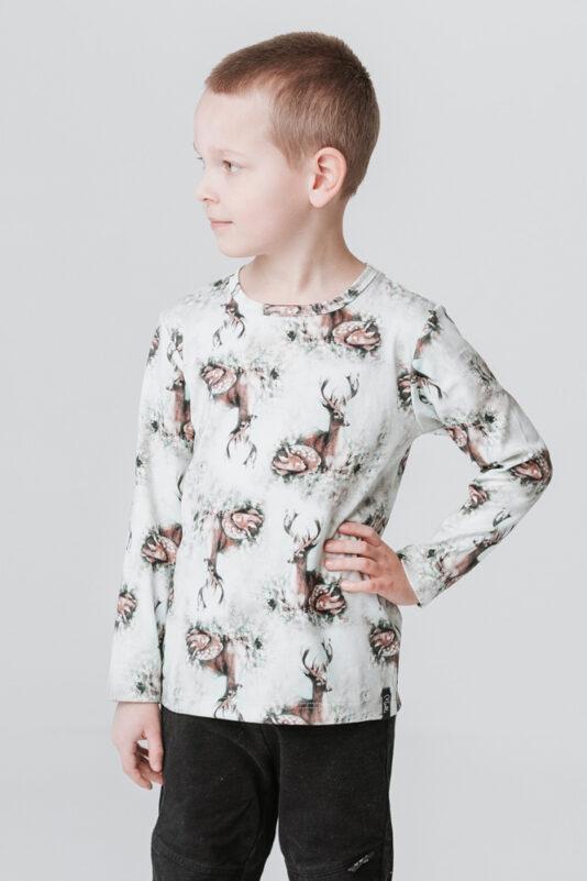 Lasten bambiperhe paita vihreä
