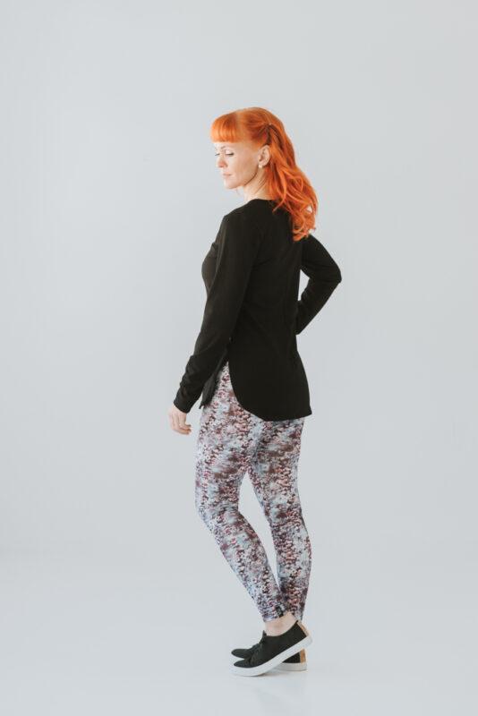 Women's patterned leggings