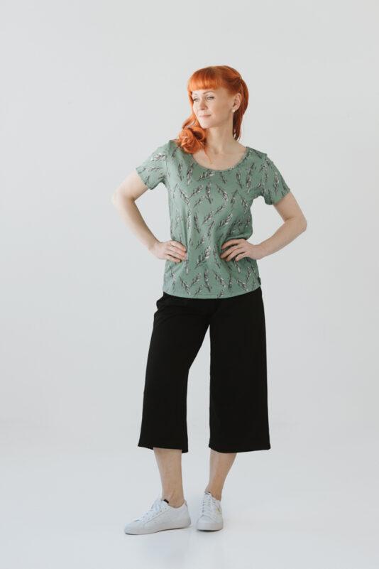 Naisten paita Sulka kuosilla