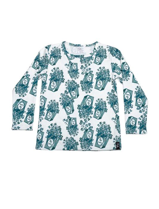 Pitkähihainen paita popkorn