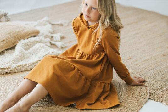 Lasten mekko okra