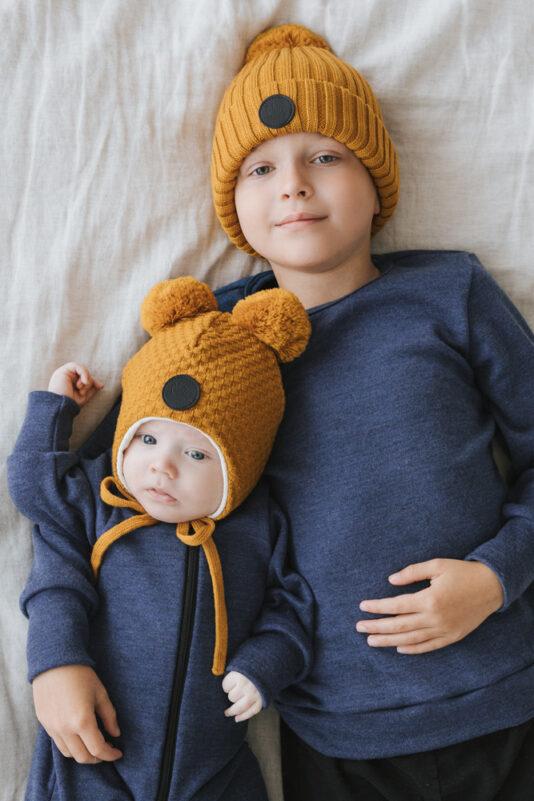 Kids merino wool
